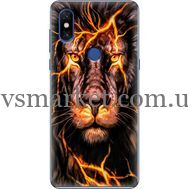 Силиконовый чехол BoxFace Xiaomi Mi Mix 3 Fire Lion (36474-up2437)
