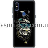 Силиконовый чехол BoxFace Xiaomi Mi Mix 3 Rich Monkey (36474-up2438)