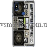 Силиконовый чехол BoxFace Xiaomi Mi Mix 3 Old Boombox (36474-up2446)