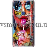 Силиконовый чехол BoxFace Xiaomi Mi Mix 3 Colorful Girl (36474-up2443)