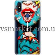 Силиконовый чехол BoxFace Xiaomi Mi Mix 3 Girl Pop Art (36474-up2444)