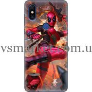 Силиконовый чехол BoxFace Xiaomi Mi Mix 3 Woman Deadpool (36474-up2453)