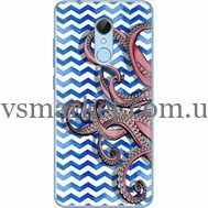 Силиконовый чехол BoxFace Xiaomi Redmi 5 Sea Tentacles (32520-up2430)