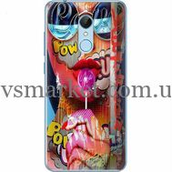 Силиконовый чехол BoxFace Xiaomi Redmi 5 Colorful Girl (32520-up2443)