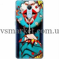 Силиконовый чехол BoxFace Xiaomi Redmi 5 Girl Pop Art (32520-up2444)