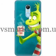 Силиконовый чехол BoxFace Xiaomi Redmi 5 Santa Hates You (32520-up2449)