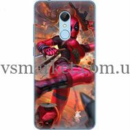 Силиконовый чехол BoxFace Xiaomi Redmi 5 Woman Deadpool (32520-up2453)