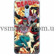 Силиконовый чехол BoxFace Xiaomi Redmi 5 Deadpool and Mary Jane (32520-up2454)