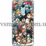 Силиконовый чехол BoxFace Xiaomi Redmi 5 Anime Stickers (32520-up2458)