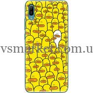 Силиконовый чехол BoxFace Huawei Y6 2019 Yellow Ducklings (36451-up2428)