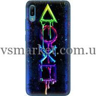 Силиконовый чехол BoxFace Huawei Y6 2019 Graffiti symbols (36451-up2432)