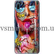 Силиконовый чехол BoxFace Huawei Y6 2019 Colorful Girl (36451-up2443)