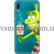 Силиконовый чехол BoxFace Huawei Y6 2019 Santa Hates You (36451-up2449)