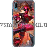Силиконовый чехол BoxFace Huawei Y6 2019 Woman Deadpool (36451-up2453)
