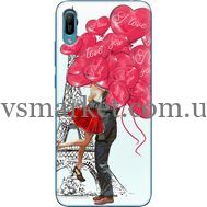Силиконовый чехол BoxFace Huawei Y6 2019 Love in Paris (36451-up2460)