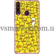 Силиконовый чехол BoxFace Huawei Y6p Yellow Ducklings (40017-up2428)