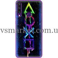 Силиконовый чехол BoxFace Huawei Y6p Graffiti symbols (40017-up2432)