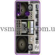 Силиконовый чехол BoxFace Huawei Y6p Old Boombox (40017-up2446)