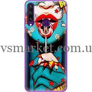 Силиконовый чехол BoxFace Huawei Y6p Girl Pop Art (40017-up2444)
