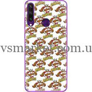 Силиконовый чехол BoxFace Huawei Y6p Pringles Princess (40017-up2450)