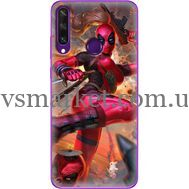 Силиконовый чехол BoxFace Huawei Y6p Woman Deadpool (40017-up2453)