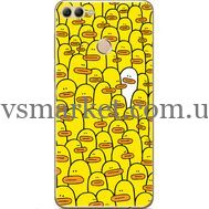 Силиконовый чехол BoxFace Huawei Y9 2018 Yellow Ducklings (33895-up2428)