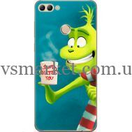 Силиконовый чехол BoxFace Huawei Y9 2018 Santa Hates You (33895-up2449)