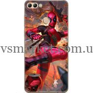 Силиконовый чехол BoxFace Huawei Y9 2018 Woman Deadpool (33895-up2453)